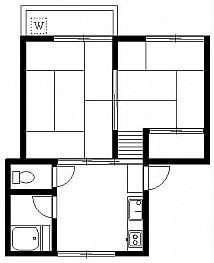 和室6帖 和室4.5帖 キッチン バス トイレ