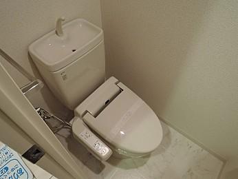 清潔な温水洗浄便