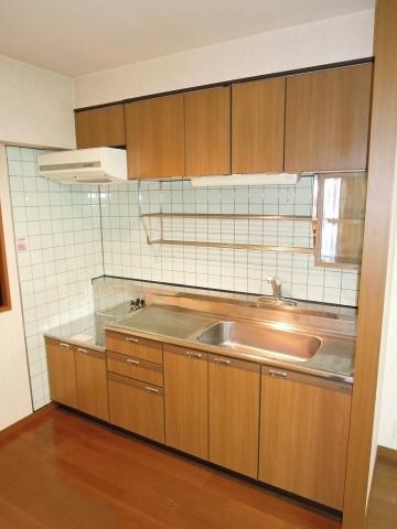 ガスコンロ設置可能 キッチン