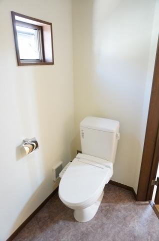 清潔な温水洗浄便座