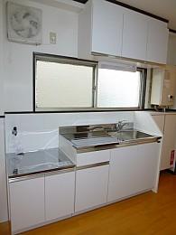 新規キッチン!大きいです