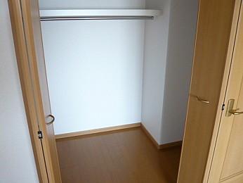 ウォークインクローゼット(別の部屋の写真です)