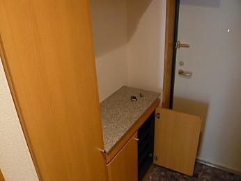 玄関(別の部屋の写真です)