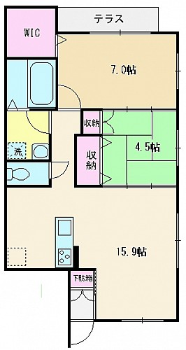 103号室(69㎡)