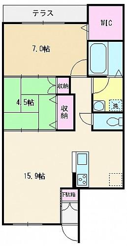 102号室(62.81㎡)