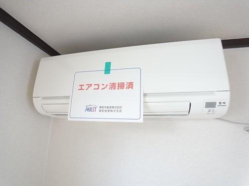 LDKに設置のエアコン