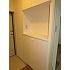 大きなシューズボックスと玄関収納付きの玄関