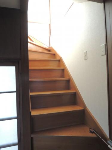 階段部分!