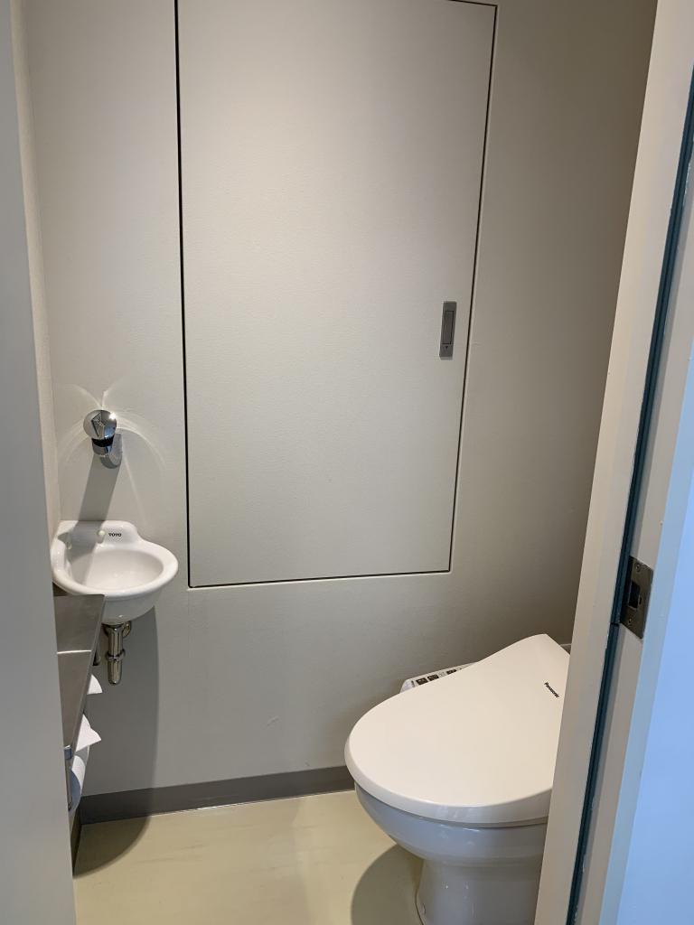 501号室 トイレ
