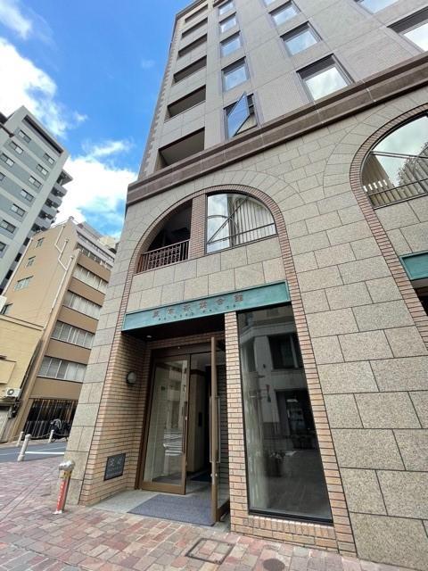 東京茶業会館 入口