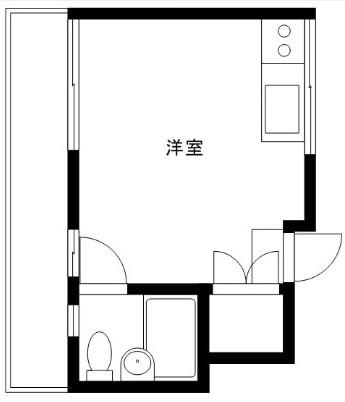 コーポモリヤマ 206号室