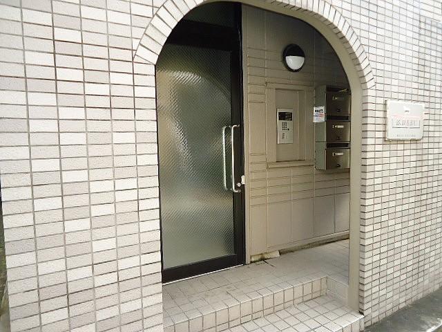 建物入口オートロック