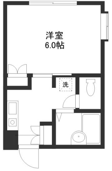 アルカディア 102号室