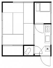 和室6帖 キッチン バス トイレ