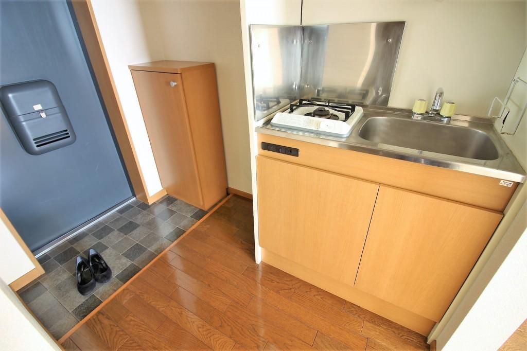 キッチンスペ-ス 調理スペースも広く毎日のお料理が楽しくできます♪