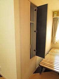 場所をとらない収納スペースによりお部屋を有効活用できます