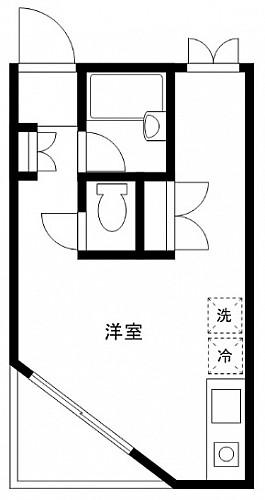 洋室8.2帖 キッチン バス トイレ