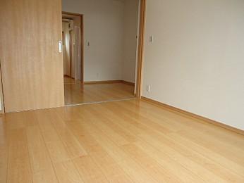 洋室6帖 大きな収納もありお部屋を有効的に使えます♪