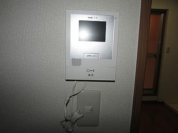 設備 TVモニタ付インタホン