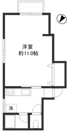 洋室11帖 キッチン バス トイレ