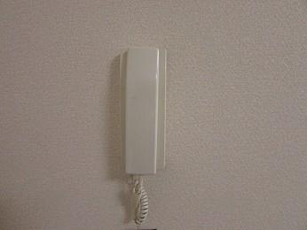 設備 インターフォン完備で安心♪