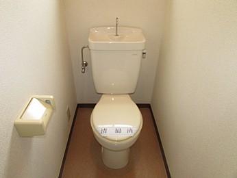 トイレに窓があります♪