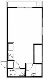 洋室10.5帖 キッチン バス トイレ