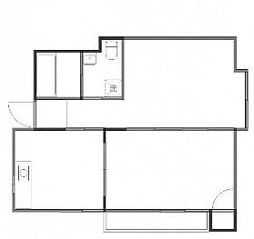 洋室5帖 和室6帖 キッチン バストイレ別