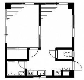 洋室6帖 DK キッチン バス トイレ