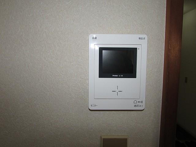 TVモニター付インターフォン完備で安心♪
