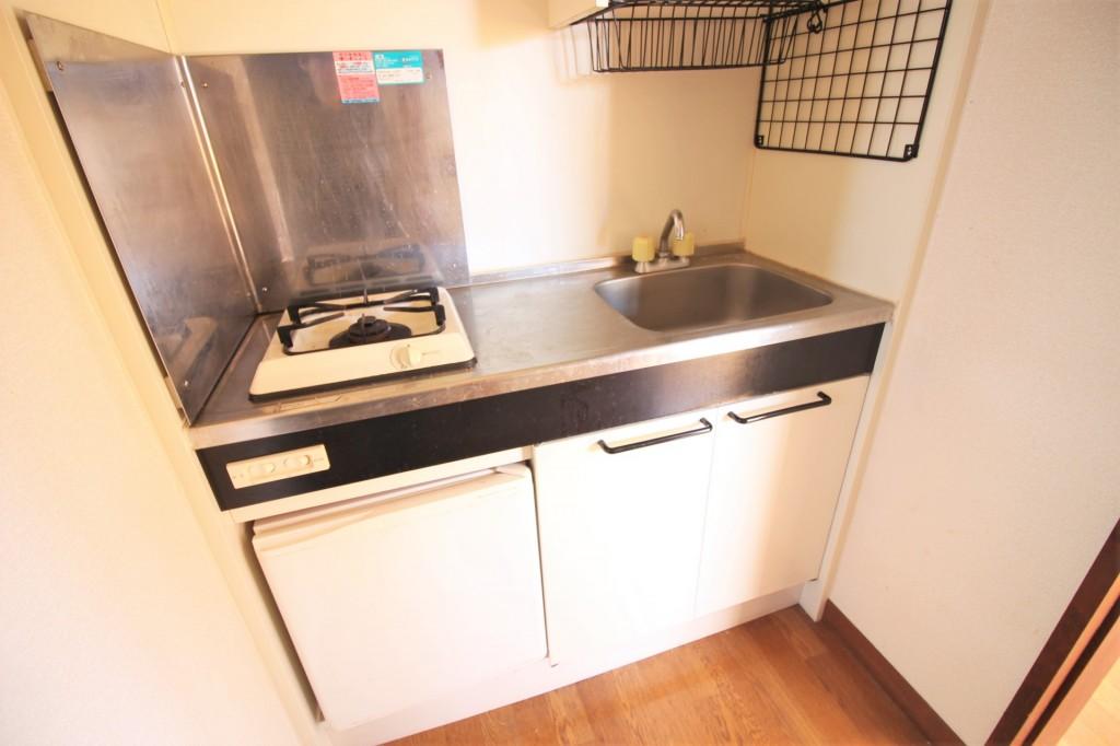 キッチン 1口システムガスキッチン 収納もたっぷり