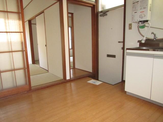 キッチン前 スペース
