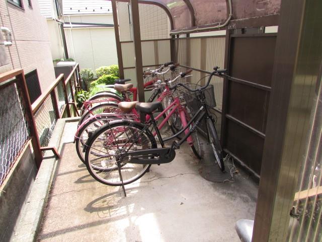 敷地内専用駐輪場