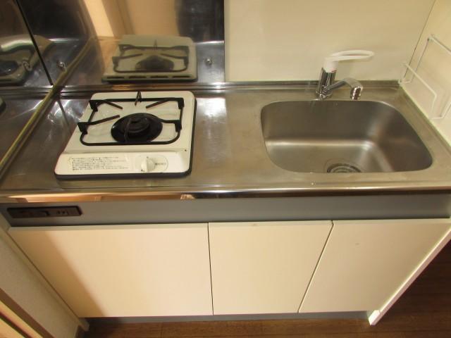 キッチン 1口システムガスキッチン