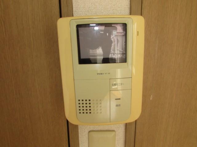 TVモニター付インターフォン完備でセキュリティも安心♪