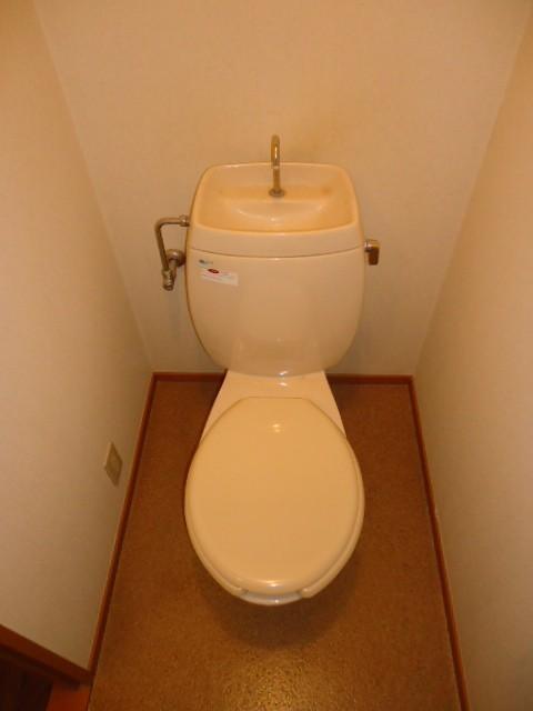 バストイレ別(上部に棚有