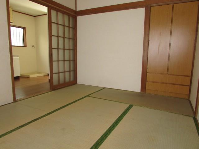 和室6帖 2部屋あり使い勝手の良い間取です