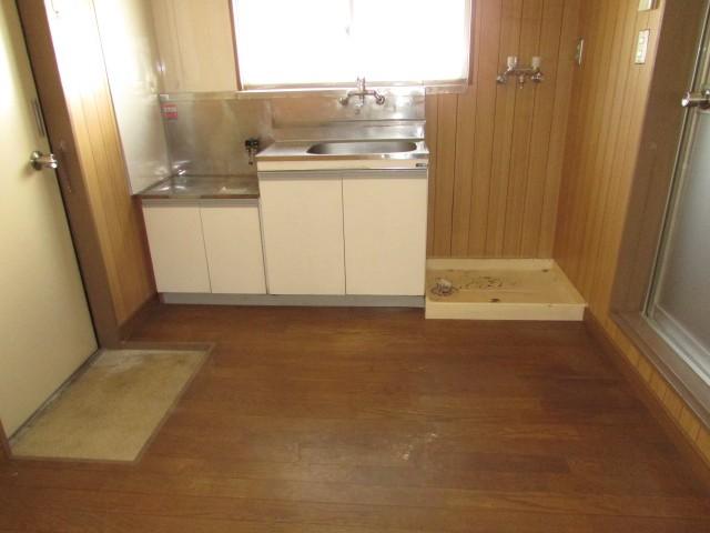 ゆとりあるキッチンスペース