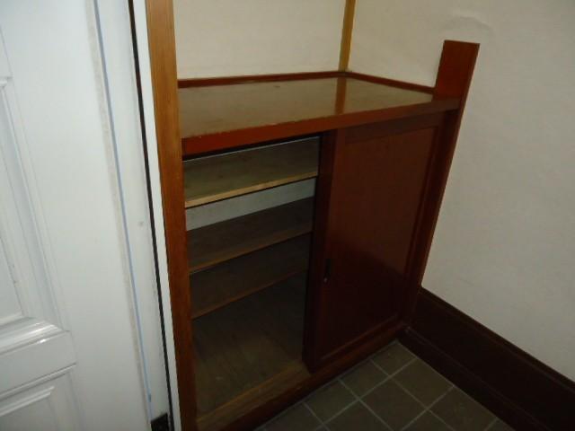 シューズボックスつきの玄関スペース