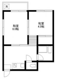 和室6帖 4.5帖 キッチン バス トイレ