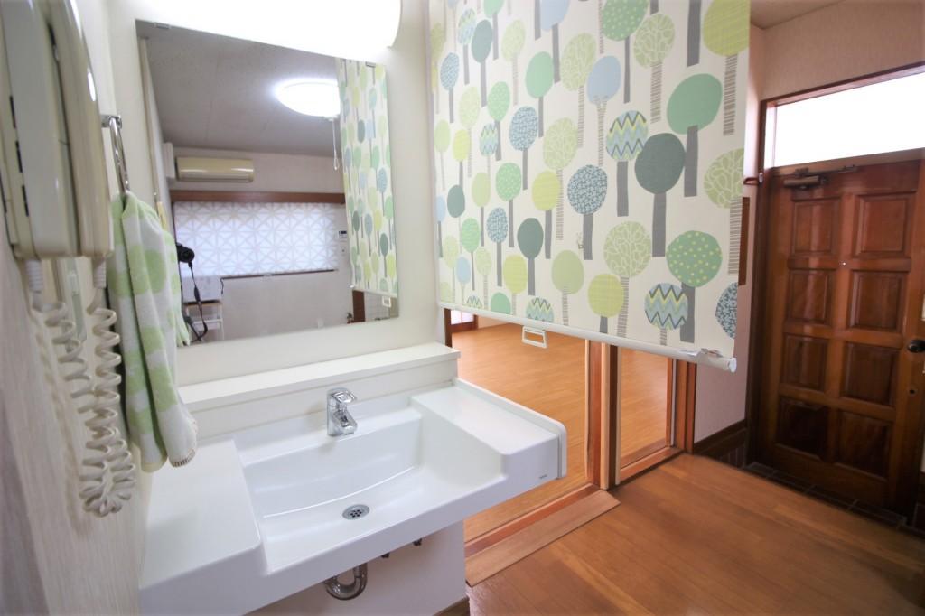 洗面台二か所