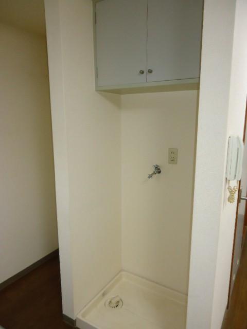 室内洗濯機置