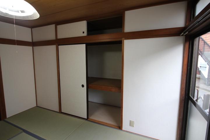広い収納スペース
