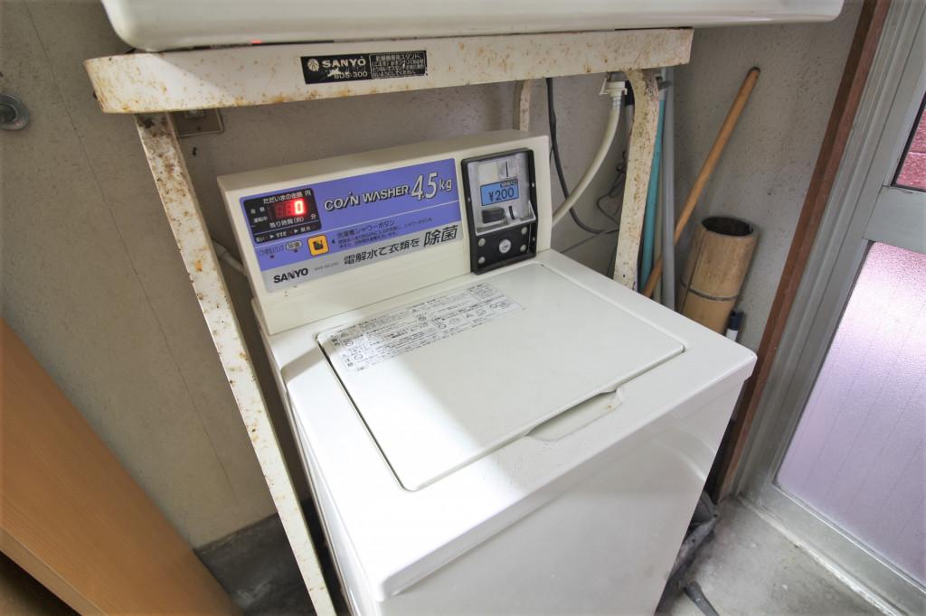 有料洗濯機
