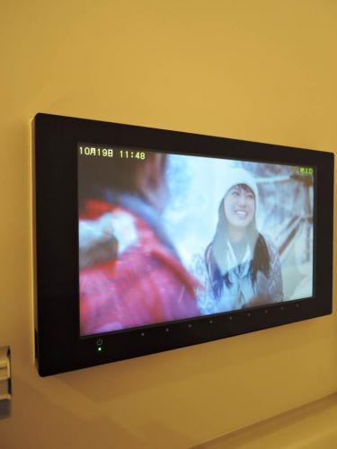 バスルーム内テレビ