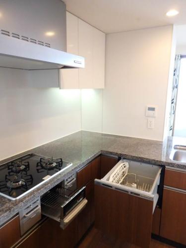 食洗機完備のシステムキッチン