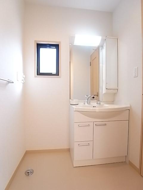 洗面脱衣所の広さはゆとりがあります!