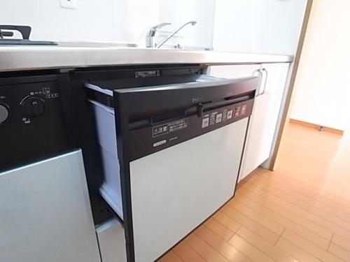 食器洗い機があって便利!