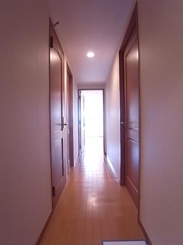 玄関から室内方向を撮影