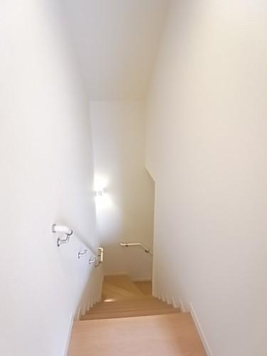 2階から玄関方向を撮影!
